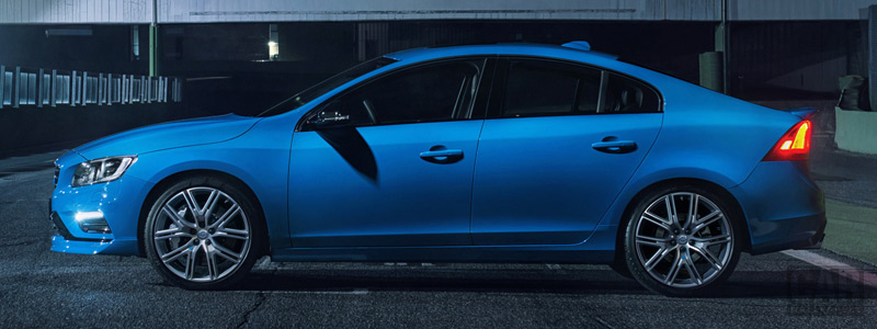 Обои автомобили Volvo S60 Polestar - 2016 - Car wallpapers