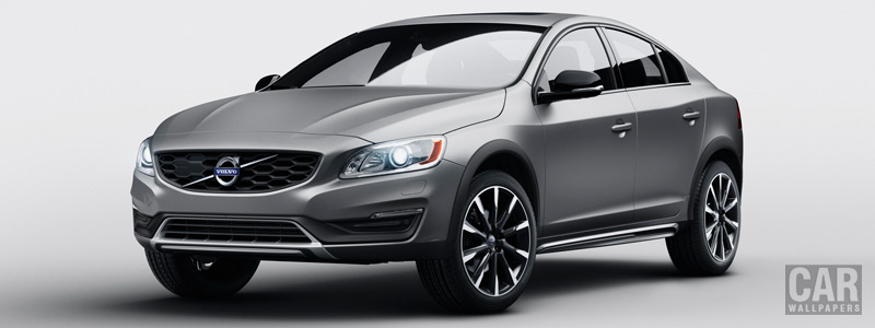Обои автомобили Volvo S60 T5 AWD Cross Country - 2016 - Car wallpapers