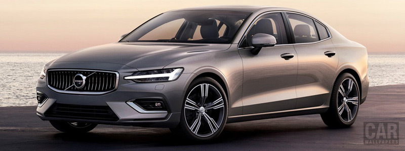 Обои автомобили Volvo S60 T6 AWD Inscription - 2018 - Car wallpapers