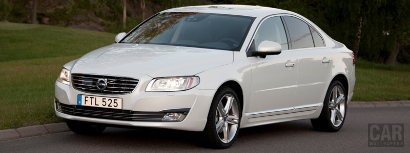 Cars wallpapers Volvo S80 D4 - 2016 - Car wallpapers