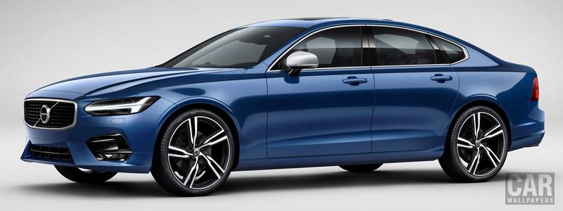 Обои автомобили Volvo S90 T6 R-Design - 2016 - Car wallpapers