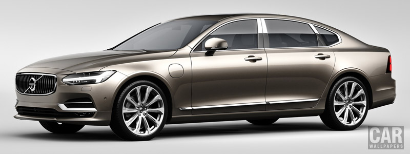 Обои автомобили Volvo S90 Excellence T8 - 2017 - Car wallpapers