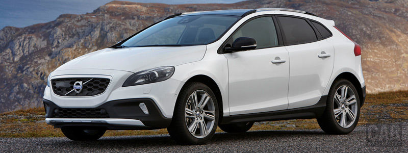 Обои автомобили Volvo V40 D4 Cross Country - 2015 - Car wallpapers