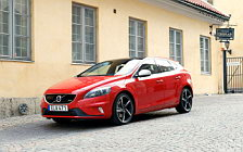Cars wallpapers Volvo V40 T5 R-Design - 2015