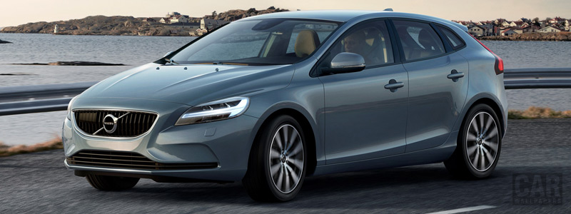 Обои автомобили Volvo V40 T4 Momentum - 2016 - Car wallpapers