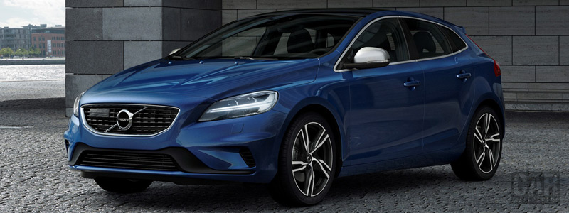 Cars wallpapers Volvo V40 T5 R-Design - 2016 - Car wallpapers
