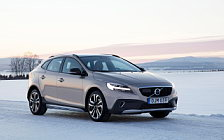 Обои автомобили Volvo V40 T5 AWD Cross Country - 2017
