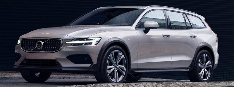 Обои автомобили Volvo V60 T5 Cross Country - 2018 - Car wallpapers