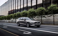 Обои автомобили Volvo V60 T6 AWD Inscription - 2018