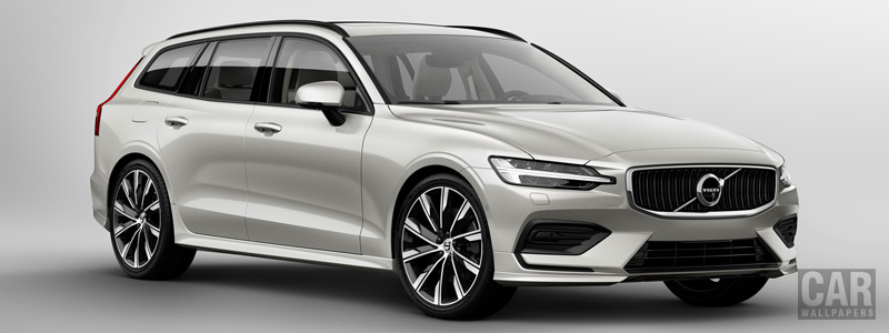Обои автомобили Volvo V60 T6 AWD Momentum - 2018 - Car wallpapers