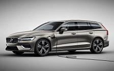 Обои автомобили Volvo V60 T8 Twin Engine AWD Inscription - 2018
