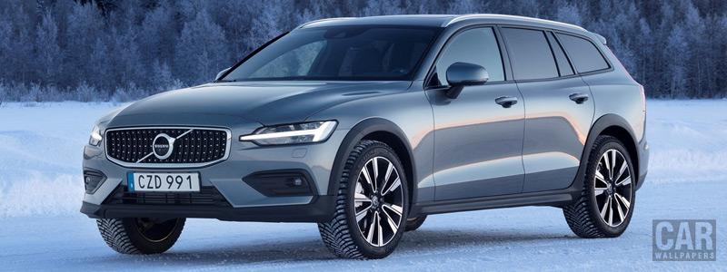 Обои автомобили Volvo V60 T5 Cross Country - 2019 - Car wallpapers