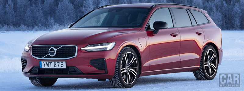 Обои автомобили Volvo V60 T8 R-Design - 2019 - Car wallpapers