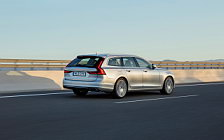 Обои автомобили Volvo V90 T6 Inscription - 2016