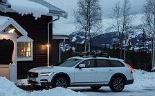 Обои автомобили Volvo V90 T6 Cross Country - 2017
