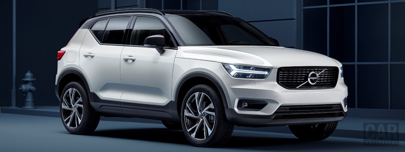 Обои автомобили Volvo XC40 T5 R-Design - 2017 - Car wallpapers