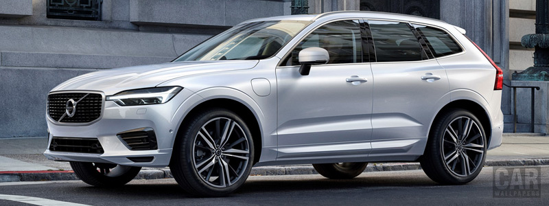 Обои автомобили Volvo XC60 T8 R-Design - 2017 - Car wallpapers