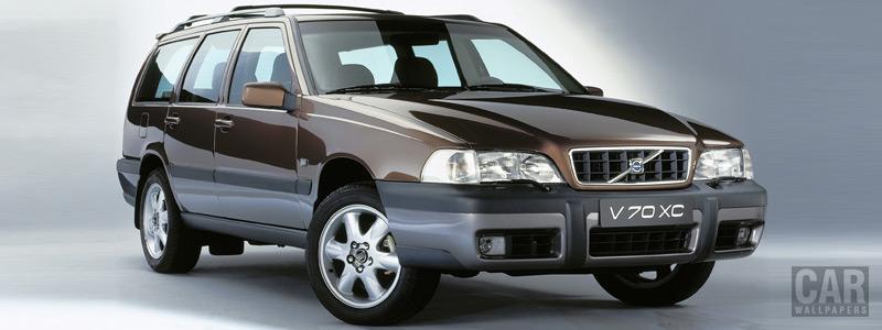 Обои автомобили Volvo V70 XC - 1999 - Car wallpapers