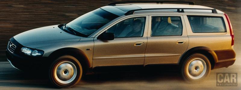 Обои автомобили Volvo V70 XC - 2001 - Car wallpapers