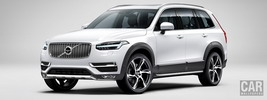 Volvo XC90 T6 AWD Rugged Luxury - 2015